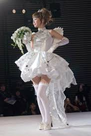 wedding dress anime clamp s card captor wedding dress walked runway