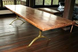 Custom Dining Room Sets Dining Table Simple Dining Room Decorating Custom Made Walnut