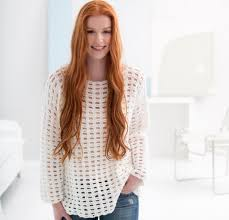 5 free crochet sweater patterns for beginners
