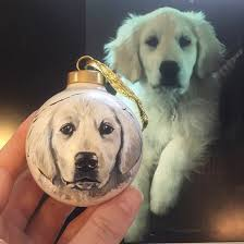 golden retriever christmas decorations living life one gift at a