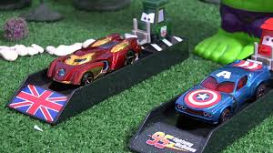 cars sally and lightning mcqueen kiss batman vs superman with cars and avengers captain america v iron
