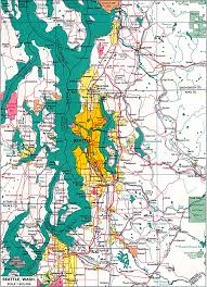 Washington State Earthquake Map by American Local History Network Washington State