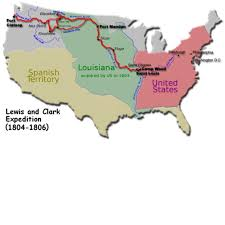Lewis And Clark Map An Interactive Image Thinglink