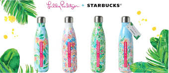 starbucks lilly pulitzer swell lilly pulitzer starbucks printed s well water bottles resort 365