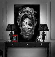 in the bad room with stephen fantasmagorik stephen king artwork on behance
