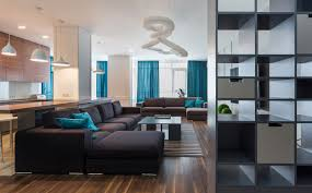 apartment living room accented blue apartment for your