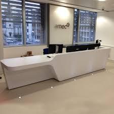 Industrial Reception Desk by Mono Reception Desks Custom Made Counters Apres Furniture