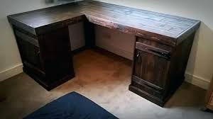 Woodworking Plans Computer Desk by Desk Make Your Own L Shaped Desk Woodworking Plans For L Shaped