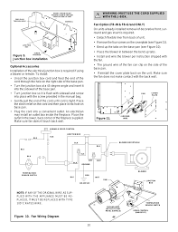 figure 10 fan wiring diagram warning must use the cord supplied