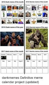 Meme Calendar 2016 - 2016 dank meme of the month 2016 normie meme of the month january
