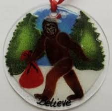 bigfoot sasquatch ornament bigfoot sasquatch yeti ornaments