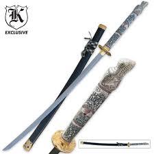 Katana Kitchen Knives Display Swords Budk Com Knives U0026 Swords At The Lowest Prices