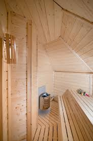 this sauna cabin 9 2 with a changing room hotbarrel ltd