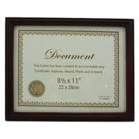 document frame party plus picture frames bulk 8 5x11 document frames discount
