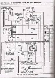 electric ezgo golf cart wiring diagrams golf cart pinterest