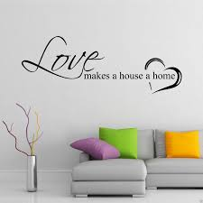 wall sticker vinyl wall quotes love sayings home art decor decal home love family wall art sticker quote decal mural transfer decal wall art love