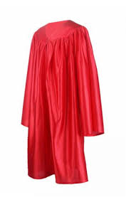 pink cap and gown graduation gown only