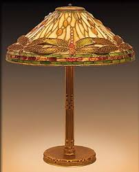 Library Table Lamps Tiffany Dragonfly Lamp Example