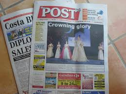 english newspaper pattern day 6 the costa blanca s english language newspapers an