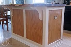 painted kitchen islands how to customize a kitchen island with trim lost found
