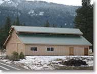 Metal Pole Barns Agricultural Steel U0026 Metal Buildings Hansen Pole Buildings
