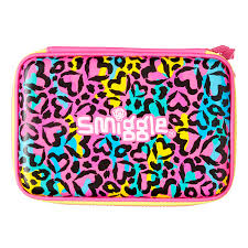 Childrens Desk Accessories by Neon Double Up Hardtop Pencil Case Smiggle Uk Smiggle