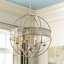 brilliant orb light chandelier multi glass orb chandelier 6 light