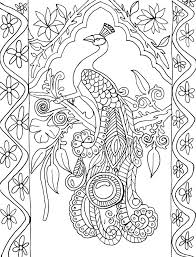 printable coloring pages for adults geometric peacock coloring pages free printable coloring pages for adults