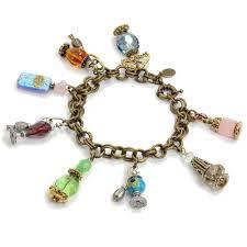 gemstone charm bracelet images Perfume bottle charm bracelet vintage perfume bottle necklace jpg