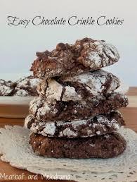 easy lemon crinkle cookies meatloaf and melodrama