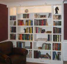bookcase lighting ideas bookcase ideas