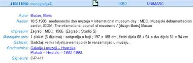 croatian national bibliography