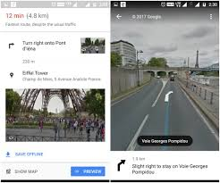 Google Maps Street View Location Google Maps Recent Update Integrates Street View For Turns