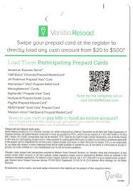 reload prepaid card online new vanilla reload flex load cards at walgreens only