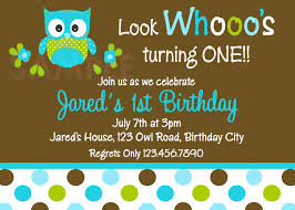polka dots invitations printable 1st birthday invitations boys owl party