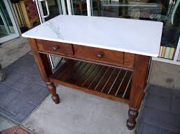 marble top kitchen island two and a farm kitchen island counter table