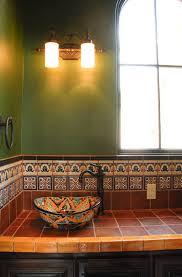 bright talavera tile mode austin mediterranean kitchen decorating