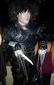 edward scissorhands costume edward scissorhands costume on the cheap 7 steps with pictures