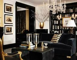 home interiors in inspirations ideas inspirational home interiors in black and gold