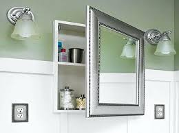 12x36 mirror medicine cabinet elegant recessed mirrored bathroom cabinets recessed bathroom mirror