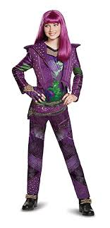 mal costume disney mal deluxe descendants 2 costume purple