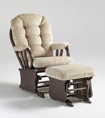 Glider Chair With Ottoman Best Gliders And Swivel Rockers Near Dayton