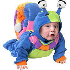 baby costume unique infant baby snail costume clothing