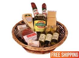 italian food gift baskets mini authentic antipasto italian food gift basket marianofoods