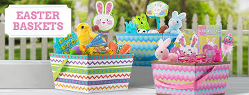 eater baskets easter baskets for kids plush baskets plastic buckets party city