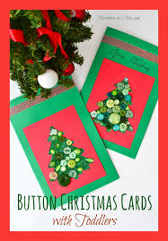 make a christmas card christmas cards with toddlers