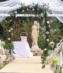 Arche Fleurie Mariage Août 2015 Chez Fleur