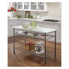 rolling kitchen islands and kitchen island carts angie s list wire rack kitchen island with adjustable feet
