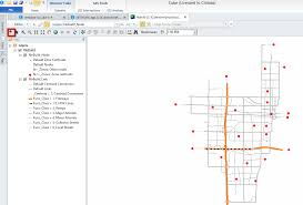 gis class online how to add arcgis online background maps to a highway network