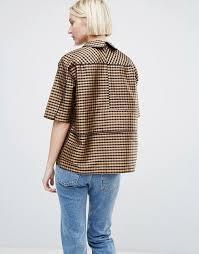 shell blouse ganni ganni silk shell blouse